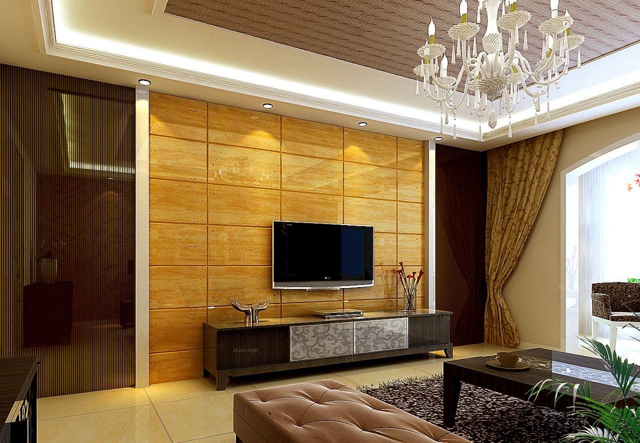 【上海实创装饰】打造三居室现代简欧风格装修效果图