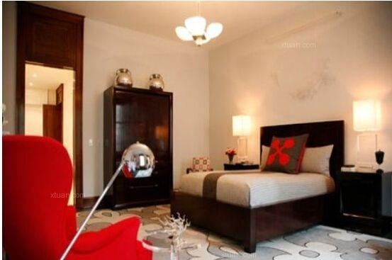 10款红色婚房卧室布置,保你一见钟情!!!