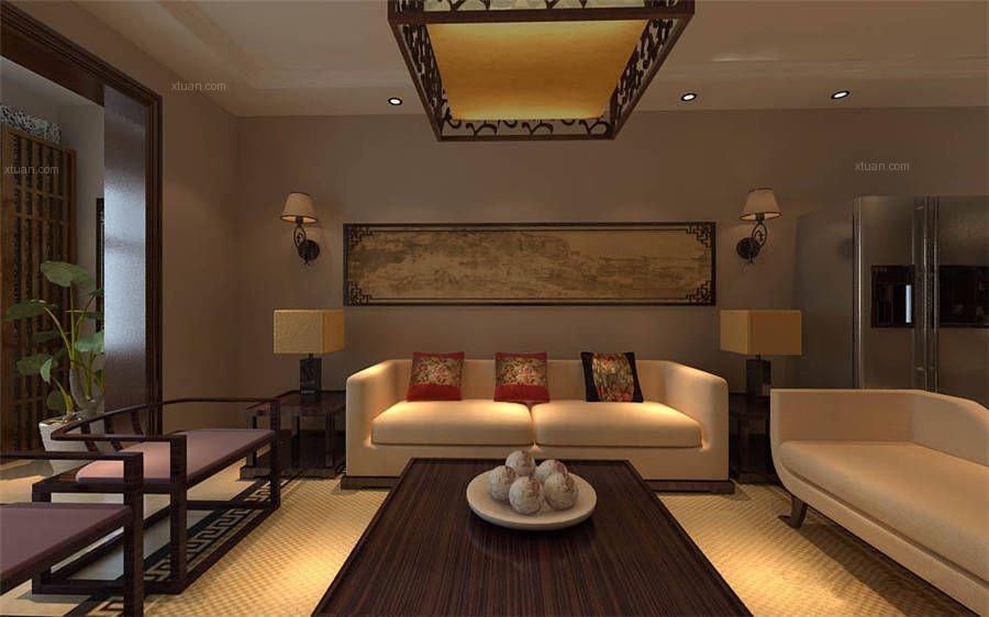 简洁大方中式别墅设计效果图