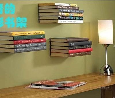 只需三招,创意隐形书架帮你收纳