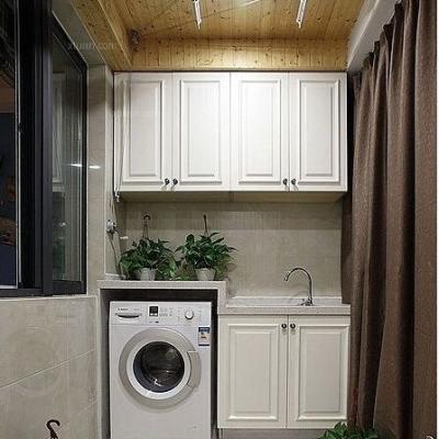 阳台变身洗衣房,结束那种蹲在卫生间洗衣服的日子图片