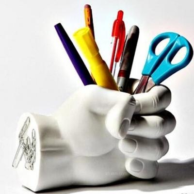 创意笔筒设计,连笔也有家了