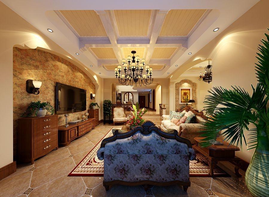 美式温馨别墅设计