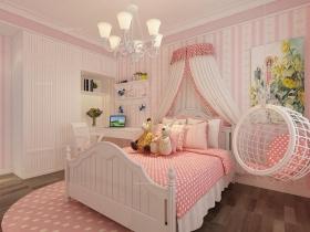 现代 简约装修效果图-三居室现代简约儿童房