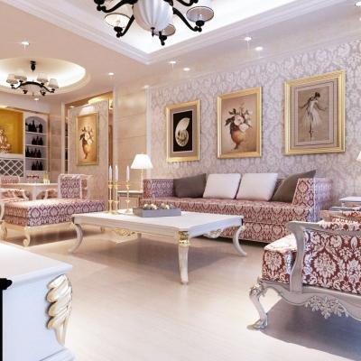 沙发背景墙,给点阳光就可灿烂!