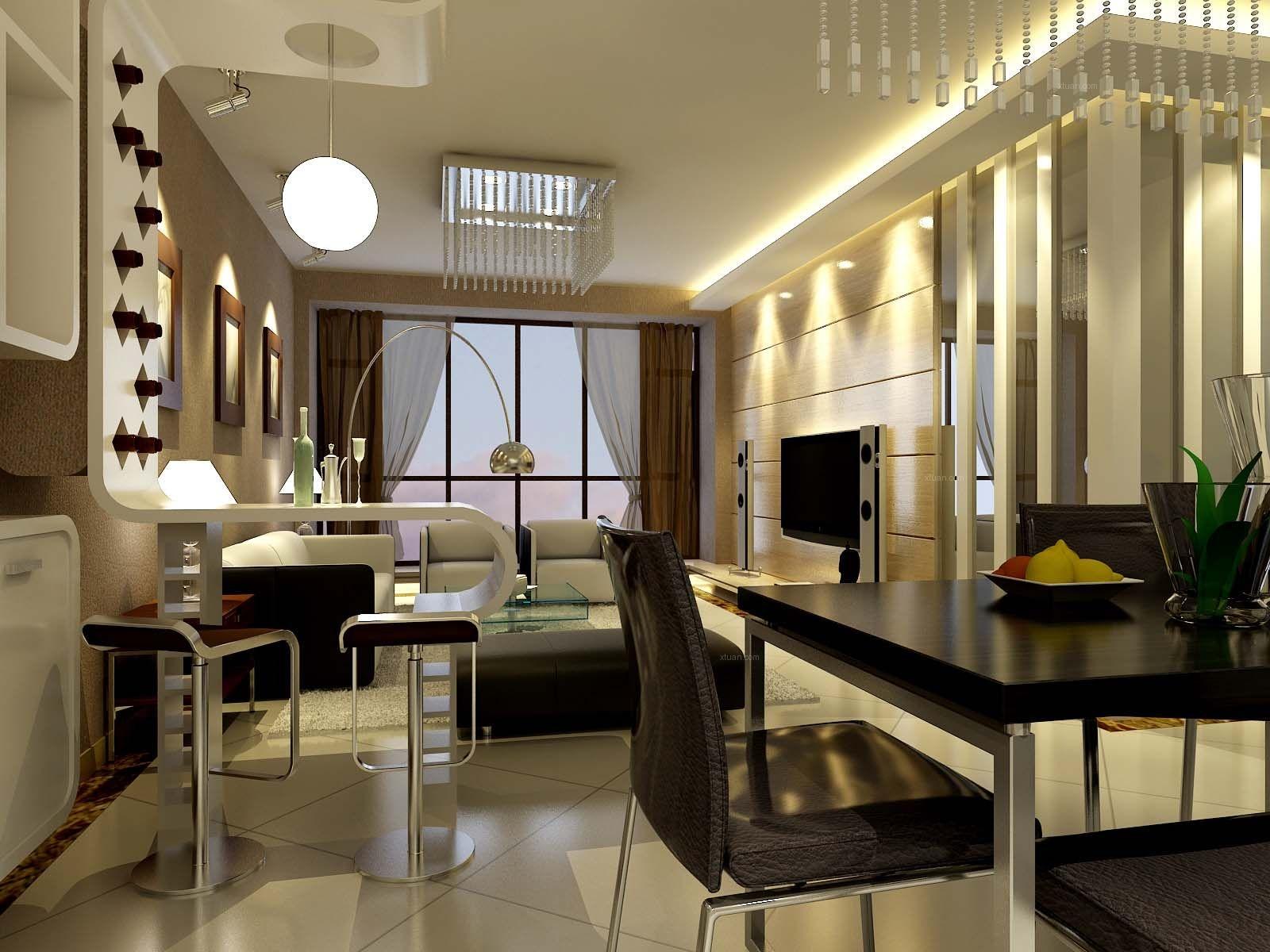长沙泥巴公社三居室新房装修  12万打造现代风格