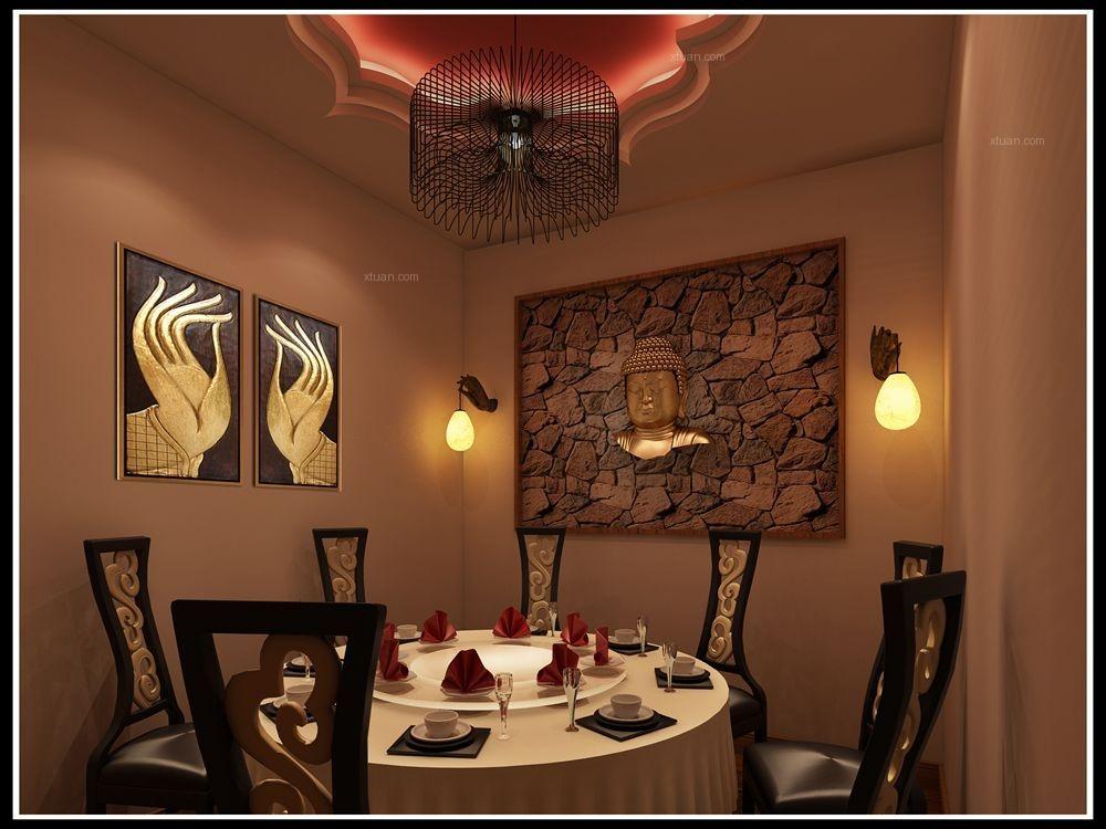泰式餐厅装修效果图