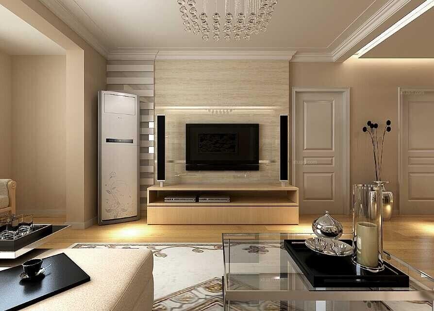 盛京绿洲108平米3居室现代简约装修设计案例