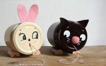 大石桥市电脑名片:为孩子diy小兔子玩偶,拉近你们的距离