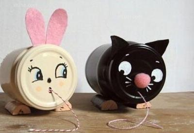 为孩子diy小兔子玩偶,拉近你们的距离