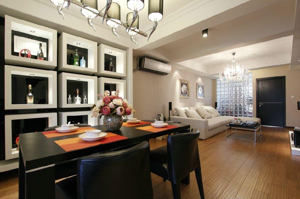 120平居室现代简约装修成果