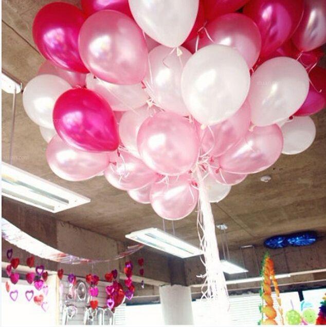 婚房气球布置,温馨又浪漫