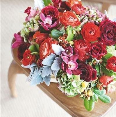 创意插花来一束,让春花深秋也绽放