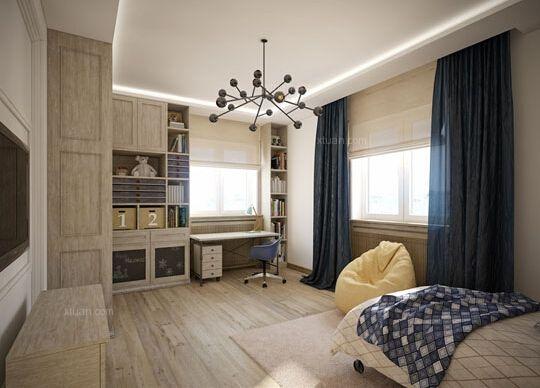卧室收纳又出新招!背景墙设计让收纳更有层次美