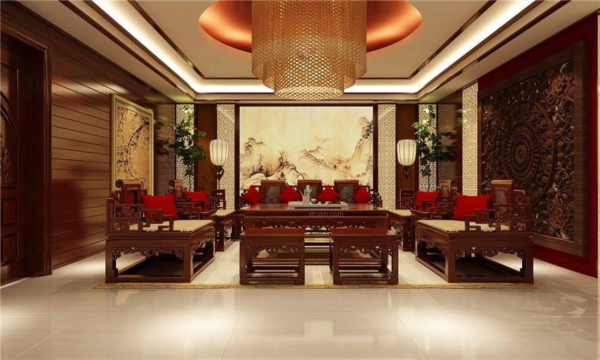 会所中式装修赋予传统文化意蕴