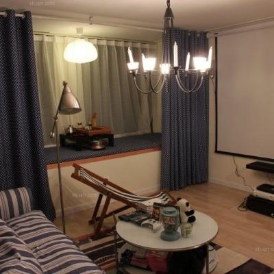30平挑高小户型混搭loft设计展