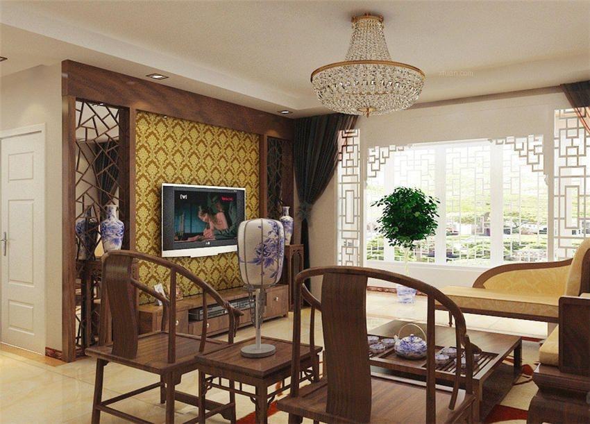 北京中式风格别墅装修设计朴实无华