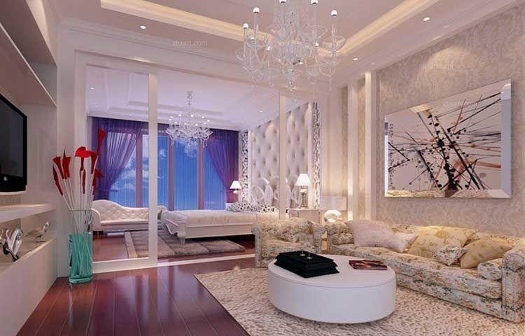 大户型欧式风格主卧室