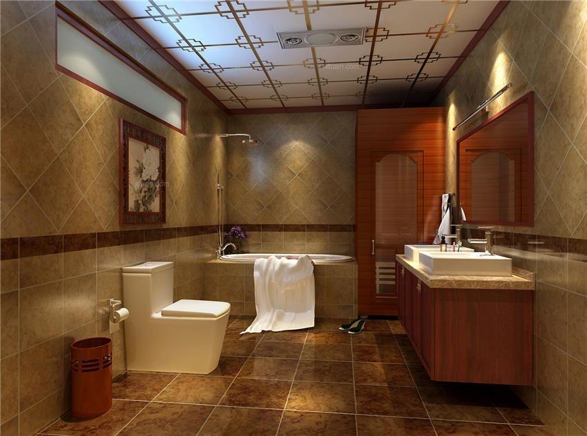 中式别墅装修设计之婉约风雅