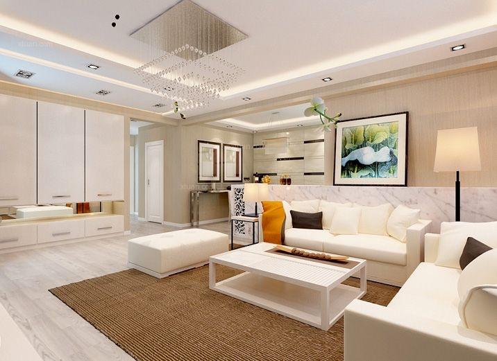 水域天际/三居室平/简约风格--121平舒适温馨新家