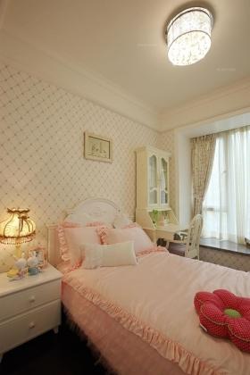 简欧家庭装修效果图-四居室北欧风格卧室