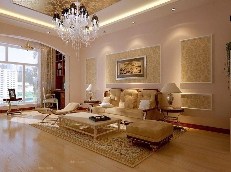 104平二房简约欧式每个空间都完美体现