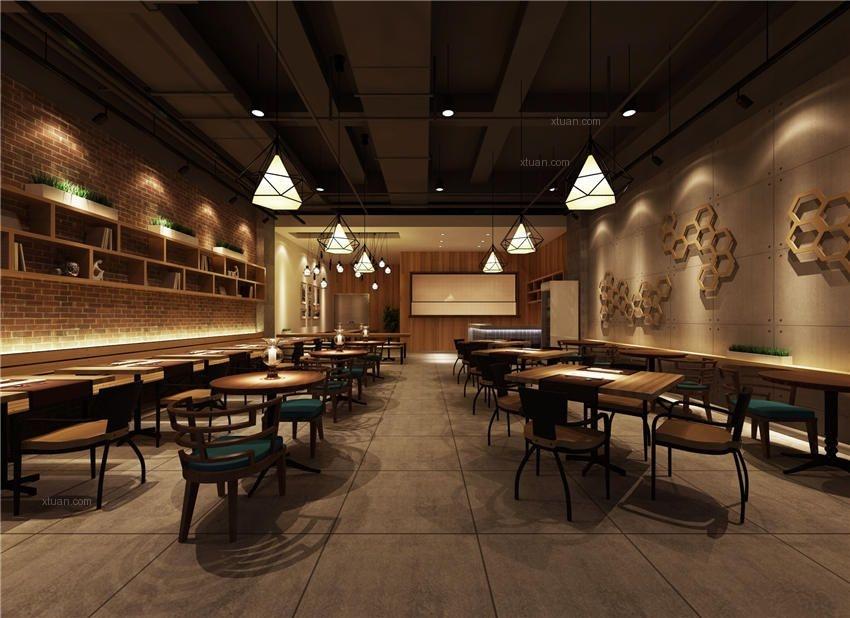 沉稳内敛中式设计餐厅装修效果图图片