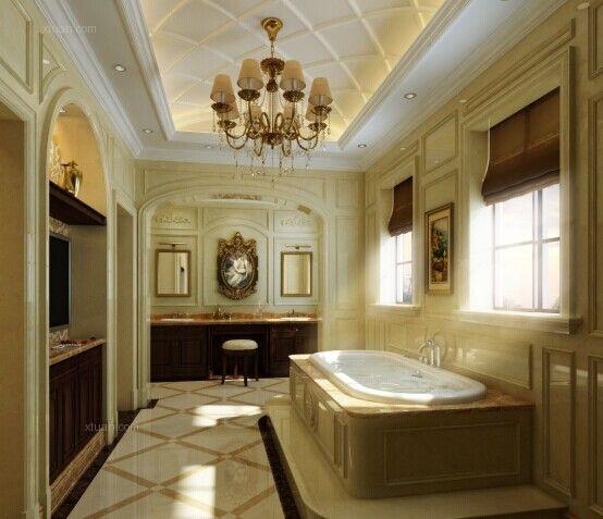 别墅欧式风格浴室