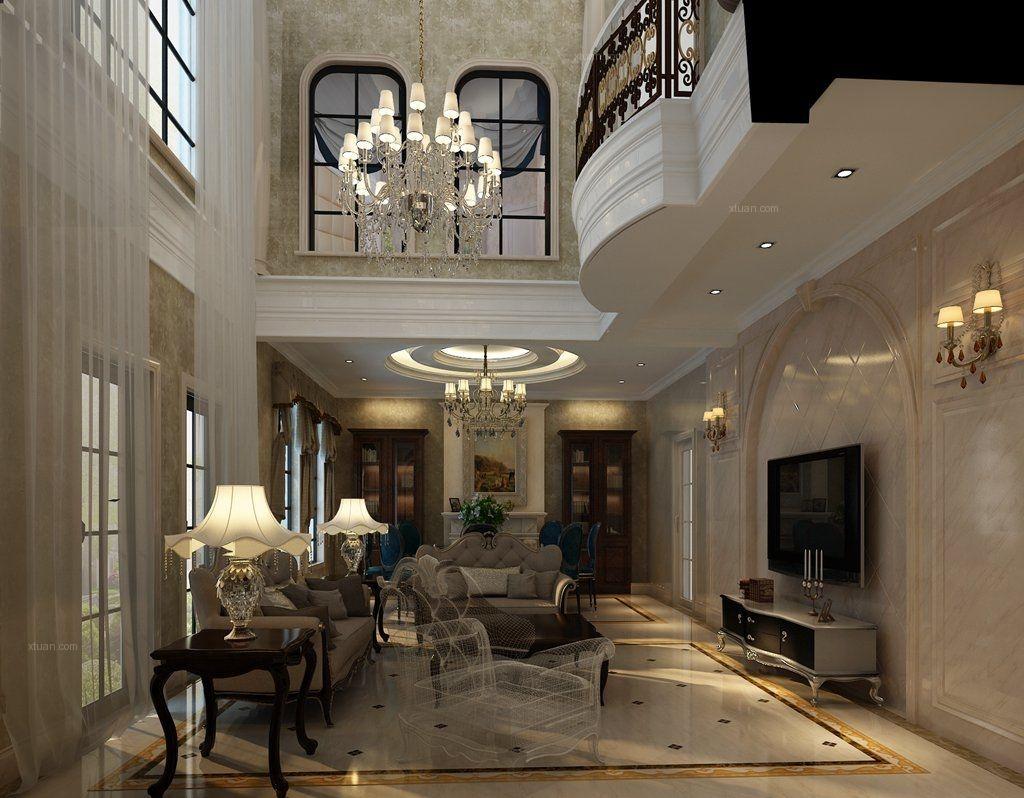 西斯莱公馆新古典风格装修案例欣赏