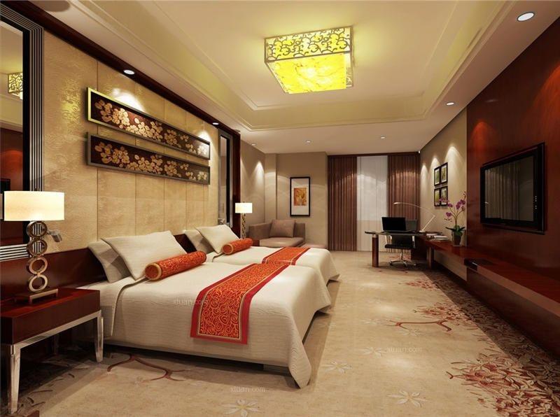 繁花似锦中式设计餐饮酒店装修