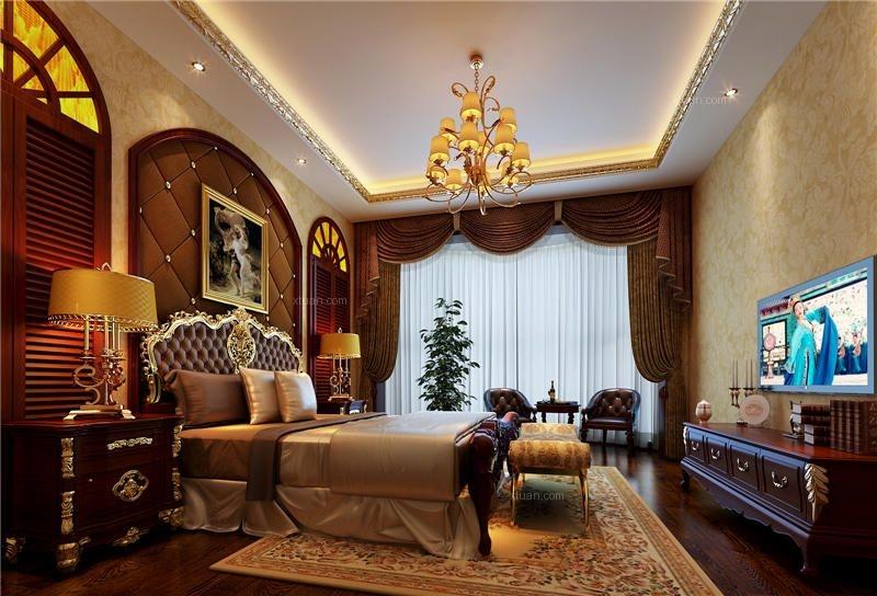高级中式四合院装修室内设计