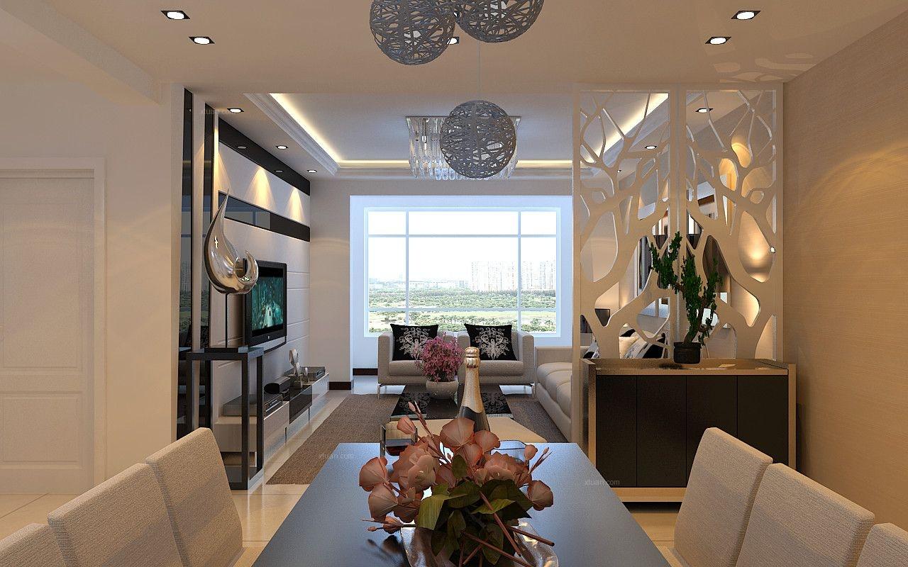 中海寰宇天下—3.3万打造114平现代简约,宁静舒适家装