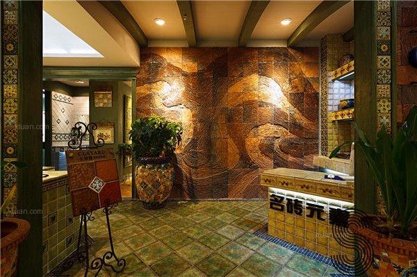 成都商铺设计公司意大利takeni树脂&卡莱雅手工瓷砖店图片