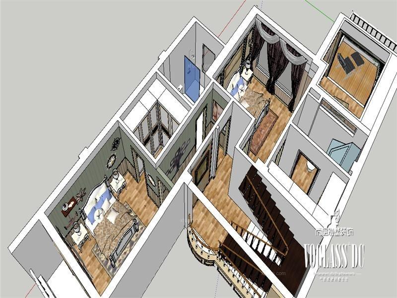 成都别墅首席设计师保利蝴蝶谷欧式古典风格案例欣赏