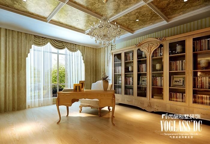 别墅欧式风格书房