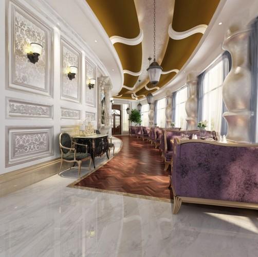 欧式咖啡馆设计