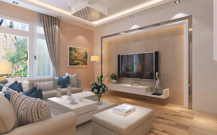 龙腾西城82平两居室现代简约设计方案