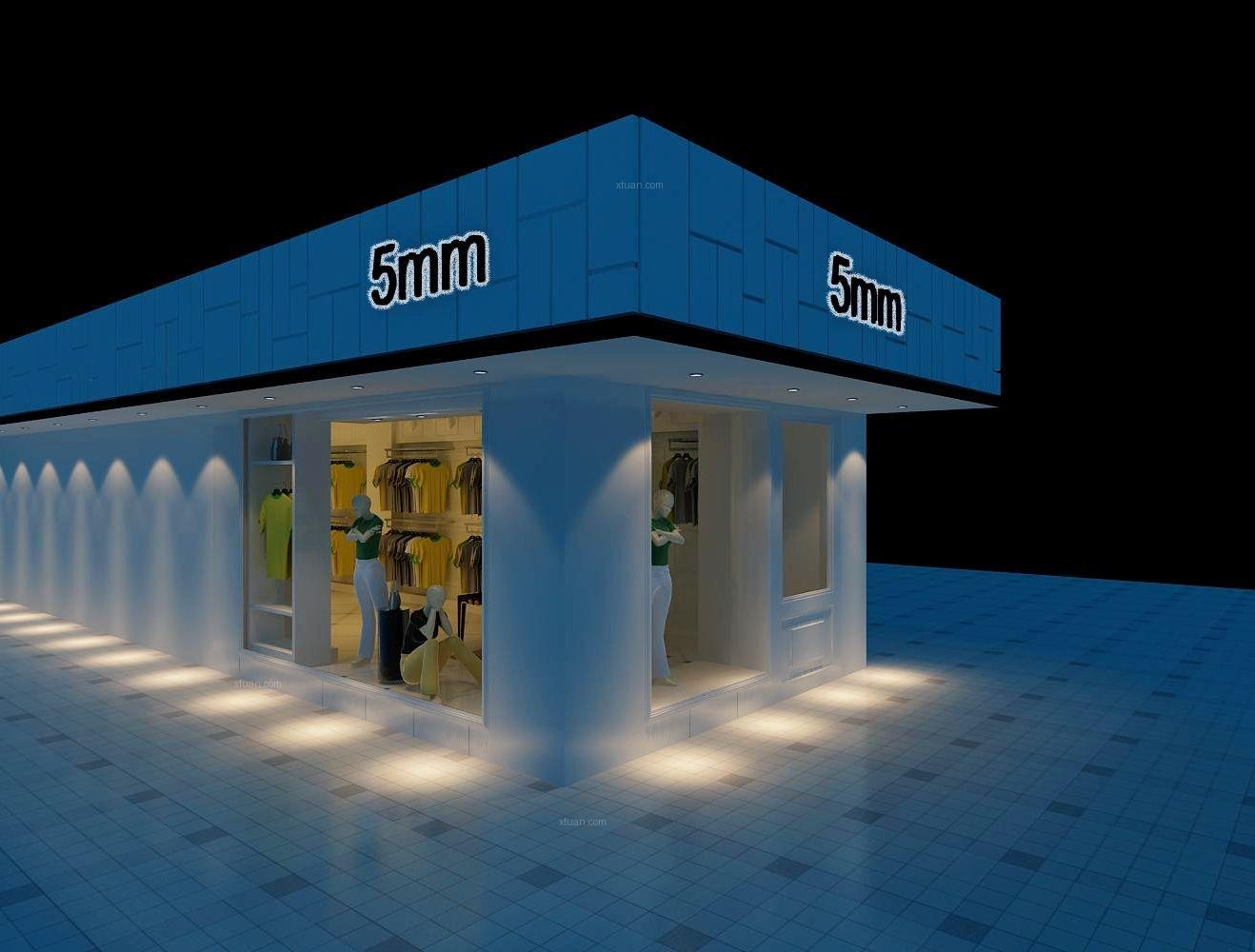 5MM男装店