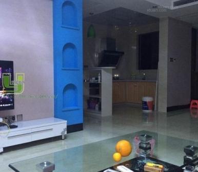 南宁良庆区瑞和家园小区三居室102㎡装修实景图