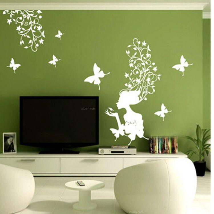 硅藻泥电视背景墙产品效果图