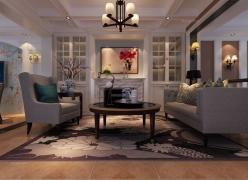 水木清华18栋105室 13万打造新中式风格
