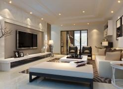 简单明亮的舒适环境-合景峰汇现代简约风格