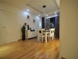 首开铂郡经典色调 128平米三居室现代简约