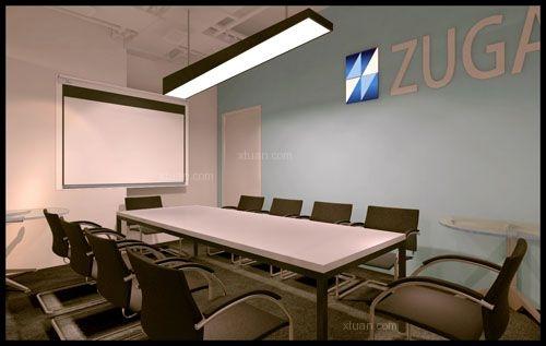 望京soho办公室设计装修效果图