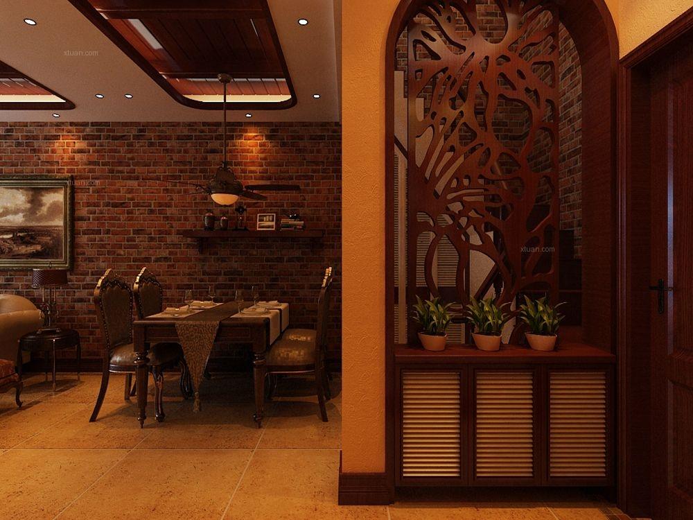 小户型美式风格餐厅图片