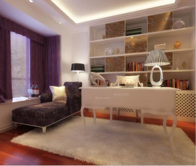 独栋别墅欧式风格卧室榻榻米