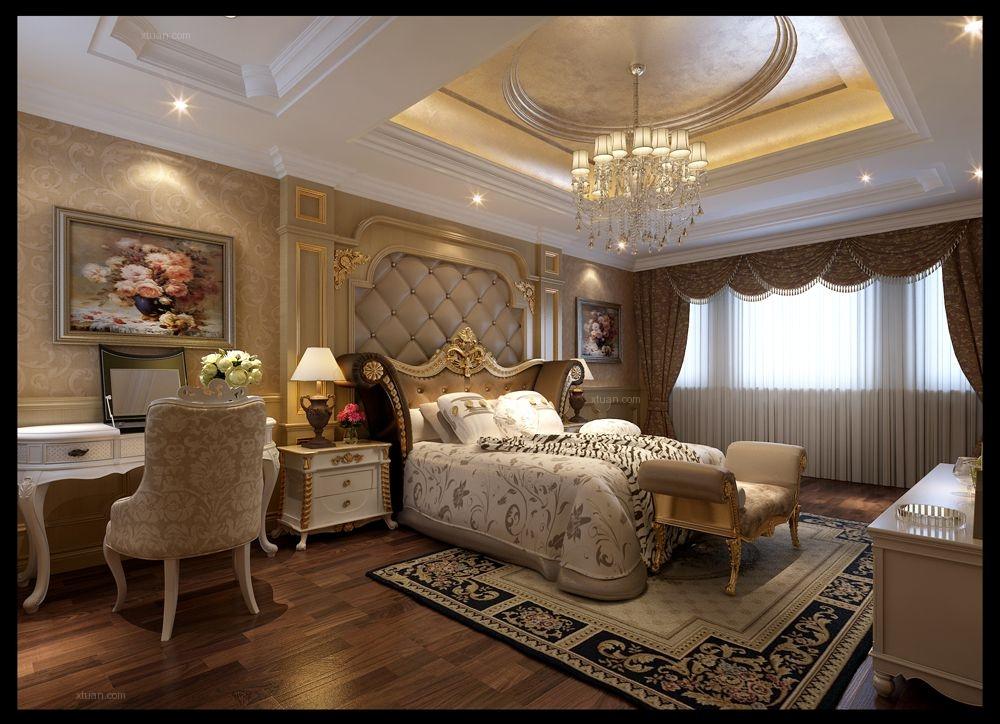 联排别墅欧式风格主卧室