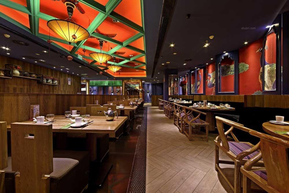 中式风格饭店图片