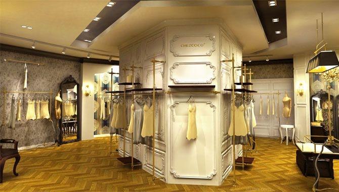 郑州服装店以及设计 郑州才高装饰装修效果图