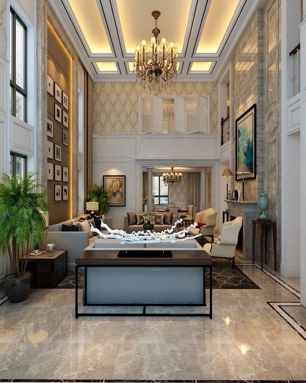 联排别墅欧式风格客厅